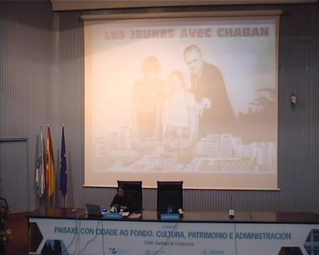 Pilar Gacía Cuetos, departamento de Historia da Arte e Musicoloxía da Universidade de Oviedo. - Xornadas sobre Paisaxe con Cidade ao Fondo: Cultura, Patrimonio e Administracion